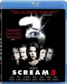 Scream 3 (2000) (Blu Ray)