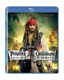 Pirates of the Caribbean: On Stranger Tides (2011)(Blu Ray)