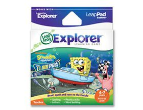 LeapFrog - Explorer Game - Spongebob Kart Racing