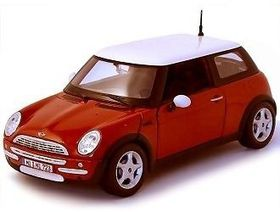 Maisto - 1/24 Mini Cooper - Red