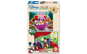 Educa - Disney Mickey Mouse Club House Wooden Puzzles