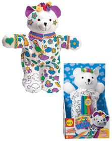Alex Toys - Color And Cuddle Washable Bear