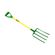 Lasher Tools - Domestic 4 Prong Digging Fork With Steel Shaft Handle