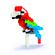 Nanoblock - Red and Green Macaw