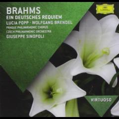 Lucia Popp, Wolfgang Brendel, Prague Philharmonic Chorus - Brahms: Ein Deutsches Requiem (CD)