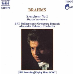 BRT Philharmonic Orchestra Brussels - Symphony No.1 (CD)