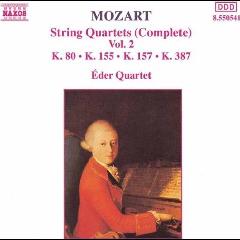 Eder Quartet - String Quartets - Vol.2 (CD)