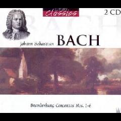 Brandenburg Concertos Nos.1-6 - Various Artists (CD)