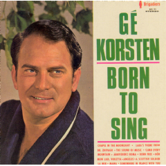 Ge Korsten - Born To Sing (CD)