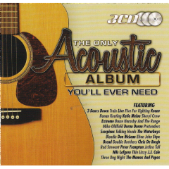 Only Acoustic Album You'll Ever Need - Various Artists (CD)