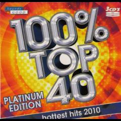 100% Top 40 Platinum Edition 2010 - Various Artists (CD)