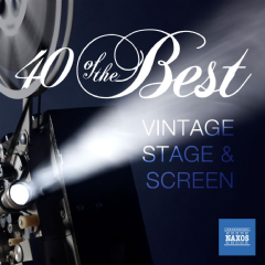 40 Of The Best: Vintage Stage & Screen Favourites - Various Artists (CD)