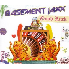 Basement Jaxx - Good Luck (CD)