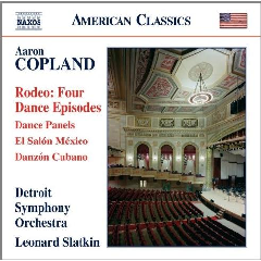 Detroit Symphony Orchestra - Rodeo / El Salon Mexico (CD)