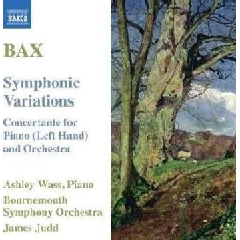 Bax:Symphonic Variations Concertante - (Import CD)
