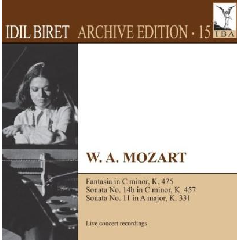 Mozart - Piano Sonatas Nos 11 & 14b (slovak Sinfo (CD)