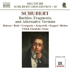 Schubert: Lied - Rarities, Fragments And Alternative Versions (CD)