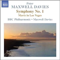 Maxwell Davies: Symphony No 1 - Symphony No.1 (CD)