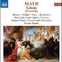 Brown/sellier/frey/burkhart - Gioas Oratorio (CD)