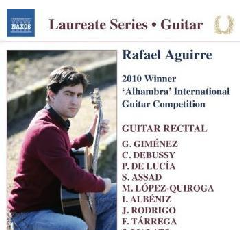 Guitar Recital: Rafael Aguirre - Guitar Recital (CD)