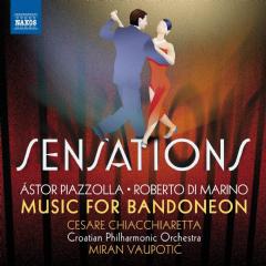 Cesare Chiachiaretta / Bandoneon / Croat - Sensations: Music For Bandoneon (CD)