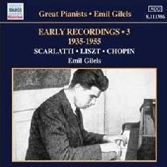 Emil Gilels - Emil Gilels Recordings - Vol.3 (CD)