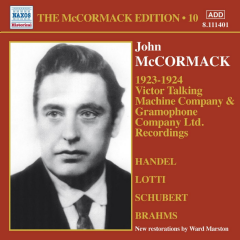 McCormack, John - McCormack Edition - Vol.10 (1923-24) (CD)