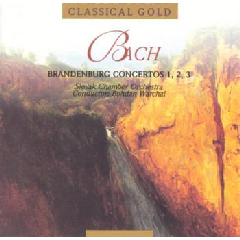 Slovak Chamber Orchestra - Brandenburg Concertos 1, 2 & 3 (CD)