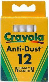 Crayola - 12 White Chalks