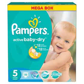 Pampers - Active Baby Junior Mega Pack 111 ( Size 5)