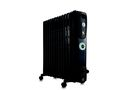 Delonghi - Oil Fin Heater - 12 Fin - Black - KH771225CB
