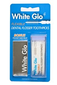 White Glo - Flosser Toothpicks