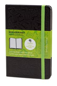 Moleskine Evernote Smart Notebook Black Pocket Ruled