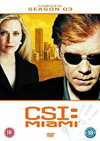 CSI Miami Complete Season 3 (DVD)