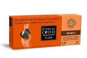 Ethical Coffee Company - Arabica Coffee Capsules - Sleeve of 10