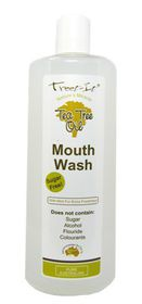 Treet-It Tea Tree Mouthwash 400ml Reitzer