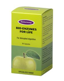 Bioharmony Enzymes For Life Capsules 60
