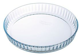 Pyrex - Bake & Enjoy Glass Bakeware Quiche Flan Dish - 1.4 Litre