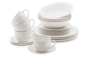 Maxwell and Williams - White Basics Dinner Set - 20 Piece