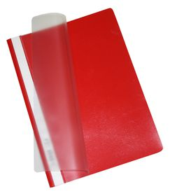 Bantex Economy A4 Folders - Red (Pack of 10)