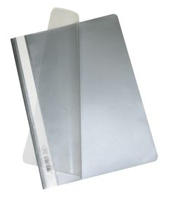 Bantex Economy A4 Folders - Silver (Pack of 10)