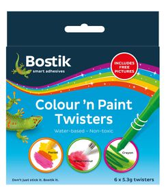 Bostik Colour 'n Paint Twisters
