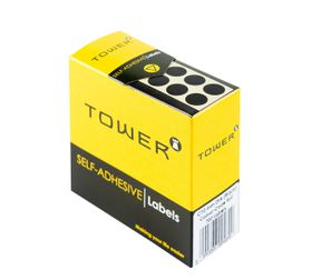 Tower C10 Colour Code Labels - Black