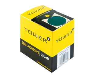 Tower C32 Colour Code Labels - Green