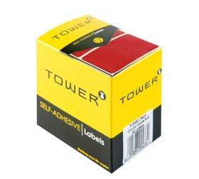 Tower R3250 Colour Code Labels - Red