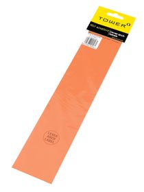 Tower Lever Arch Labels - Orange (Pack of 12)