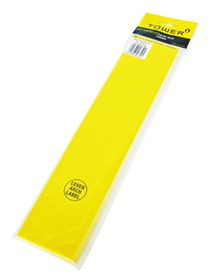 Tower Lever Arch Labels - Yellow (Pack of 100)