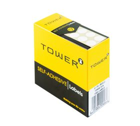 Tower White Roll Labels - C10