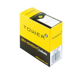 Tower White Roll Labels - R1622