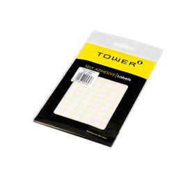Tower White Sheet Labels - S812